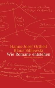 Ortheil-Cover: Wie Romane entstehen