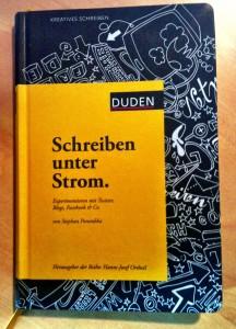"""Cover von """"Schreiben unter Strom"""""""