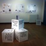 """Ausstellungsraum """"Das weiße Blatt"""" in Haus Nottbeck"""