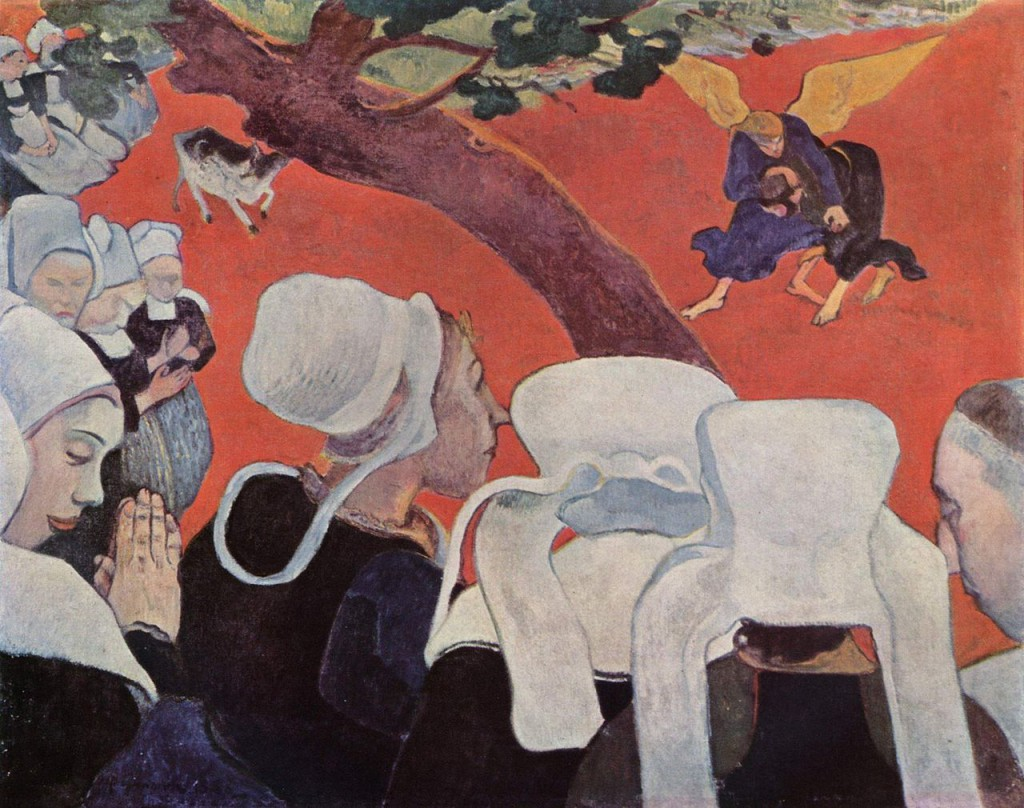 Paul Gauguin: La Vision du sermon (1888), National Gallery of Scotland, Edinburgh
