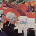 Paul Gauguin, La Vision du sermon, National Gallery of Scotland, Edinburgh